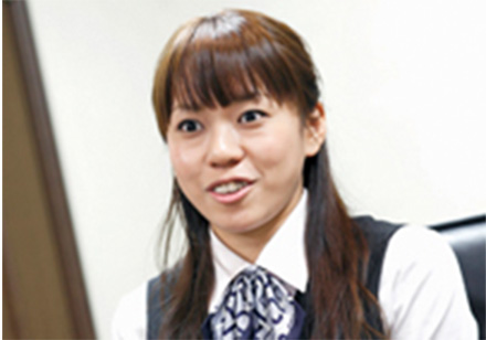 photo: 相田真住さん
