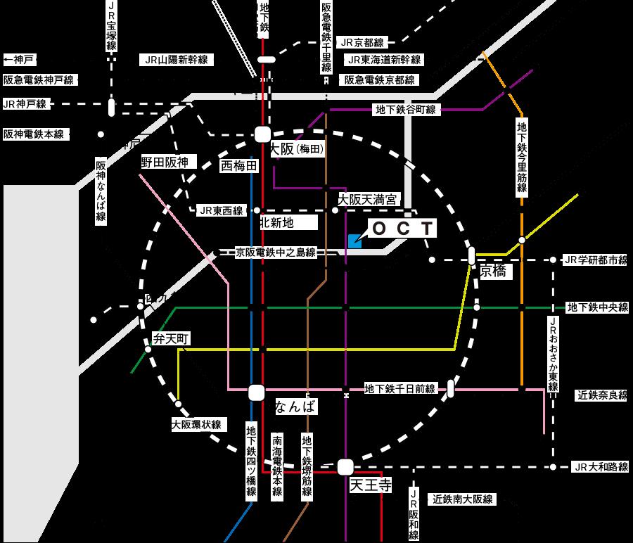 pct:路線図