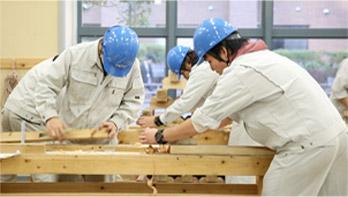 photo: 大工技能学科