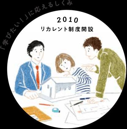 illust:2010_リカレント制度解説   「学びたい!」に応えるしくみ
