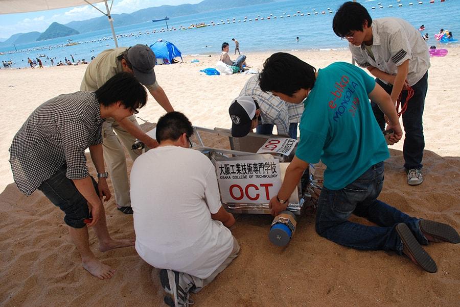 全国海岸清掃ロボットコンテスト