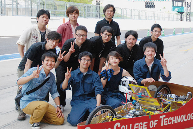 Hondaエコマイレッジチャレンジ鈴鹿大会