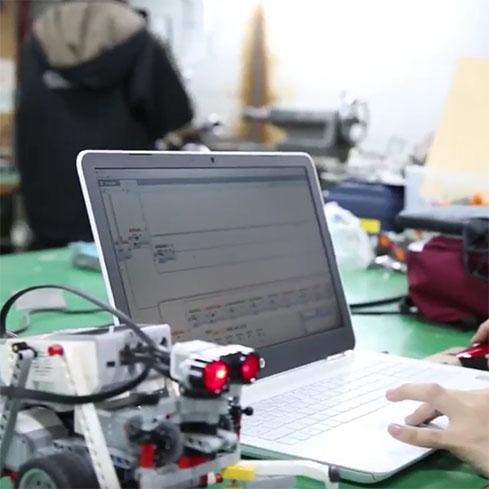 #034 ロボットのプログラムを調整する