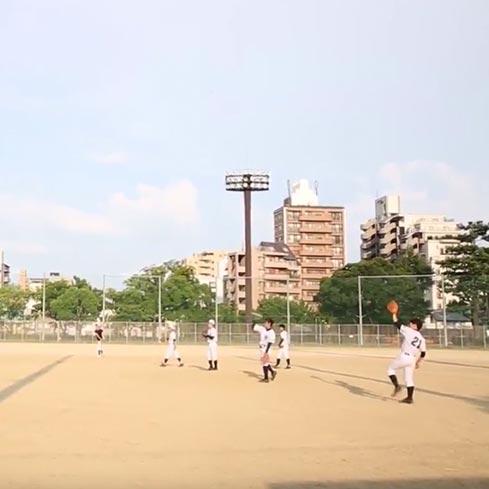 #056 野球の練習をする