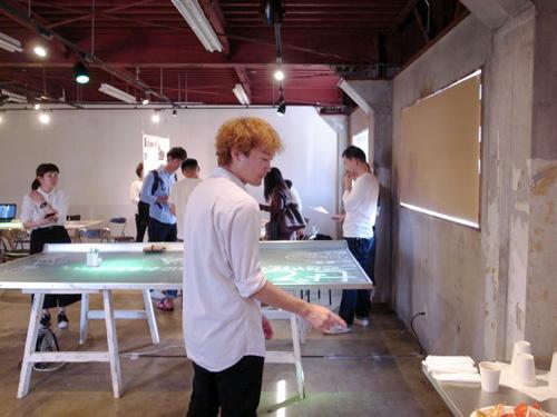 photo: 建築旅の展示発表会