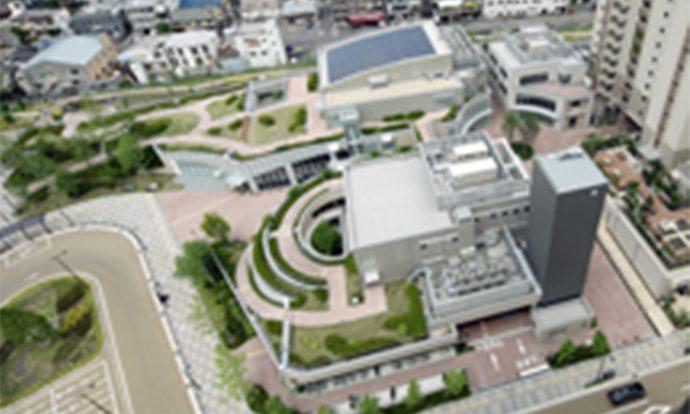 「摂津市コミュニティプラザ・保健センター」2010年