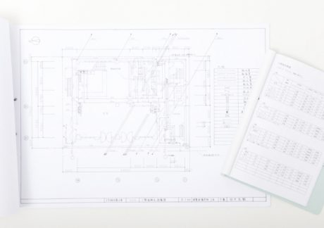 photo: OCT3号館の改修工事の設備設計・製図