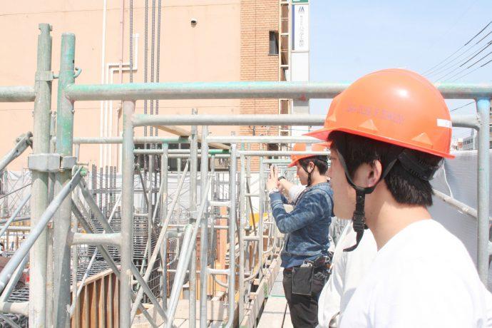 photo: 2年生 【技術コース】 建築施工管理の体験