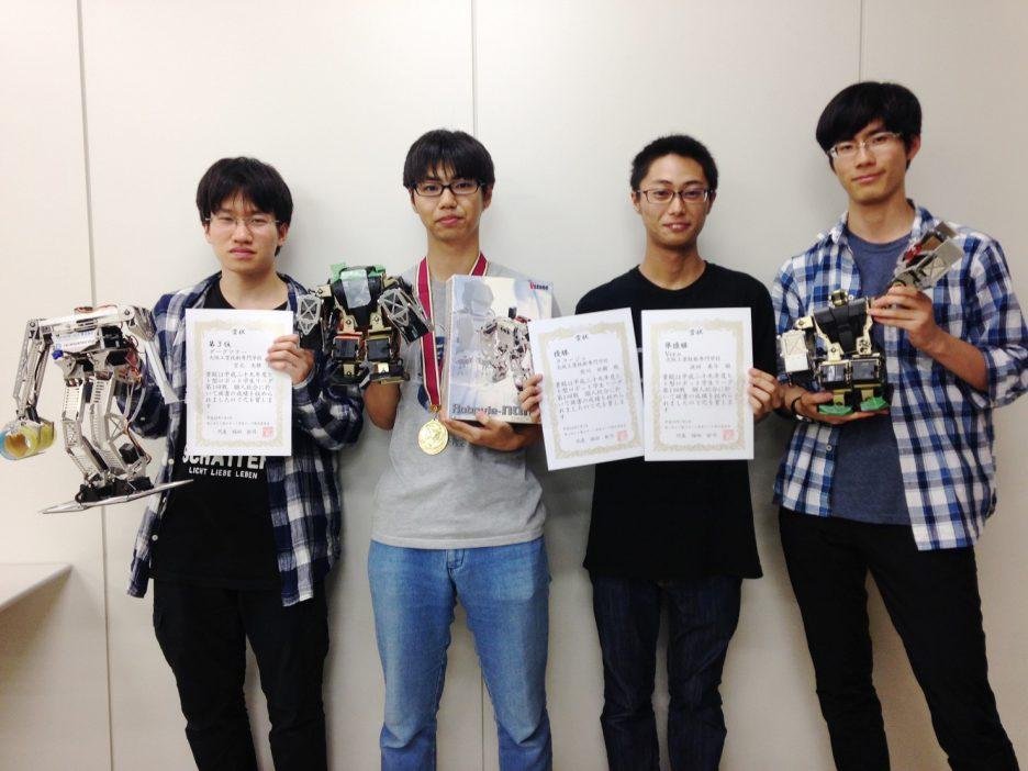 photo: 【近畿学生2足歩行ロボットリーグ】 OCTが1位・2位・3位を独占!!