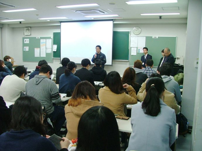photo: 大阪府住宅まちづくり部建築指導室 建築安全課技術吏員による「安全安心まちづくり出前講座」開催