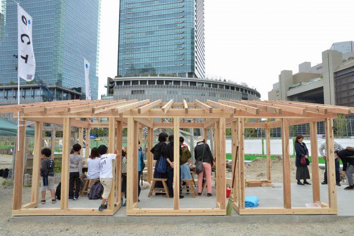 photo: 4月14日(土)「大工体験inうめだ」うめきたサザンパークにて開催されました。