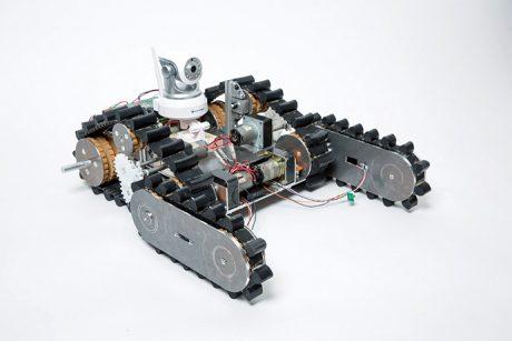 photo: 災害救助ロボット