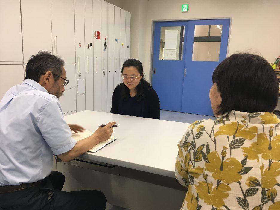 photo: 姉妹大学大阪保健医療大学の先生方と交流しました。