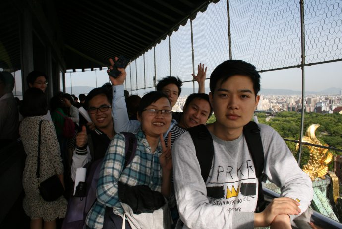 photo: 平成30年度留学生歓迎行事を大阪城にて行いました。