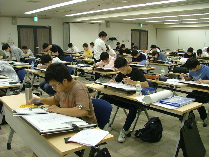 photo: 二級建築士設計製図 基礎特訓研修を行いました。