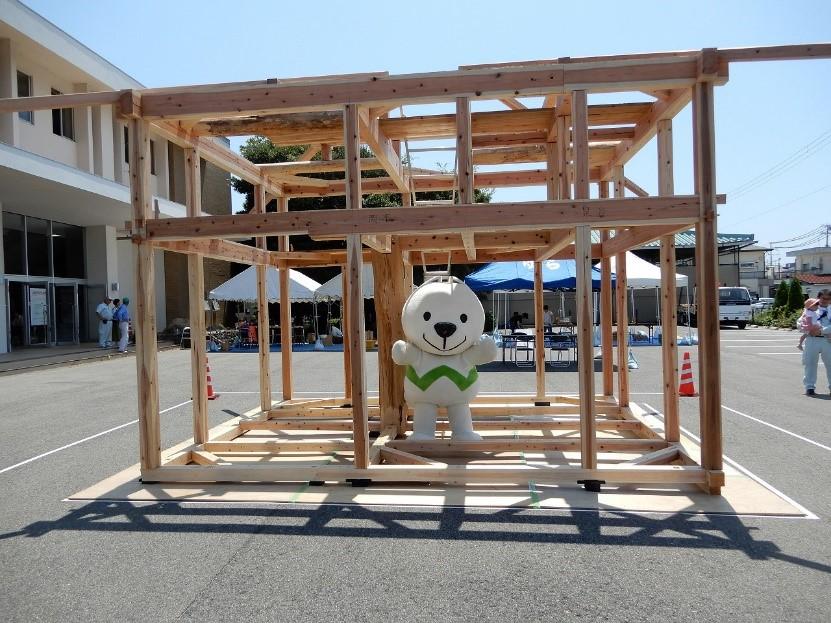 photo: 学外実習 和歌山県御坊市「夏休み木づかい祭」参加