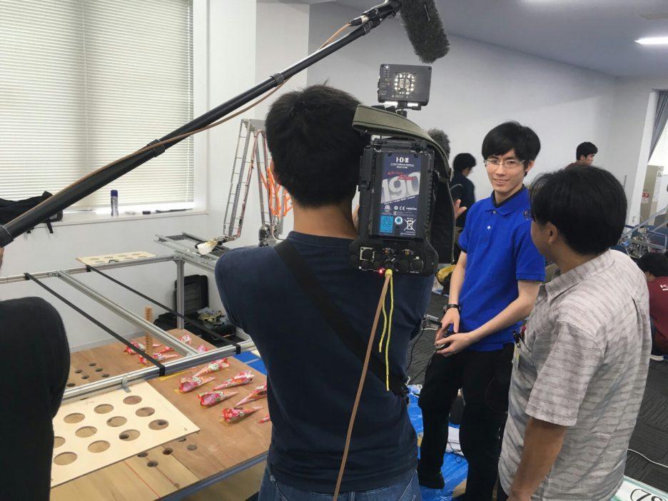 photo: 第8回 キャチロボバトルコンテスト 審査員特別賞を入賞した模様が、KBS京都放送 12月22日土曜日 19時~21時で放送されます!