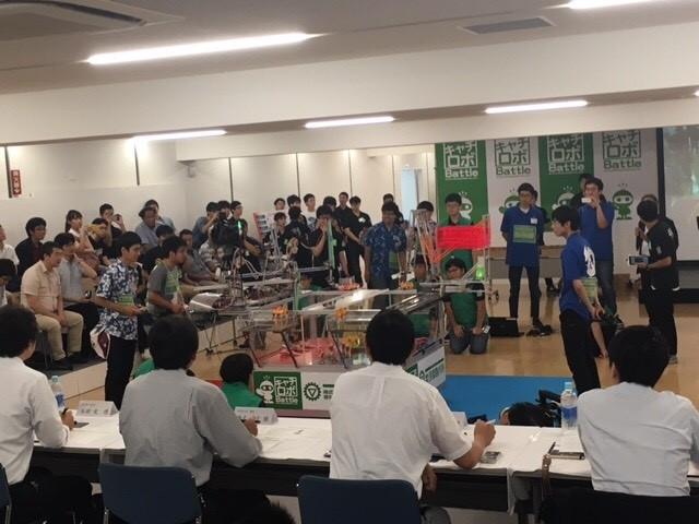 photo: 第8回 キャチロボバトルコンテスト 審査員特別賞入賞・ベスト16入選!