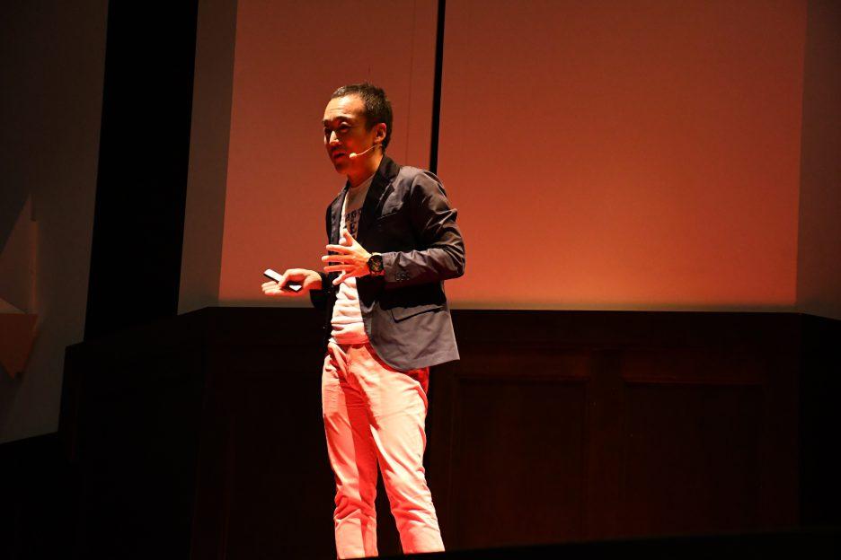 photo: 講師でOCT卒業生の木村貞基先生が大阪大学のTEDイベントに出演されました