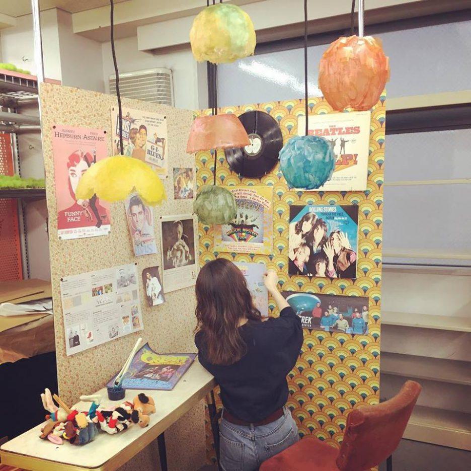 photo: インテリアデザイン学科2年生 卒業制作の一次審査がありました