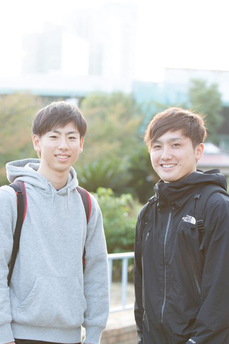 photo: 中村光太夫(左)