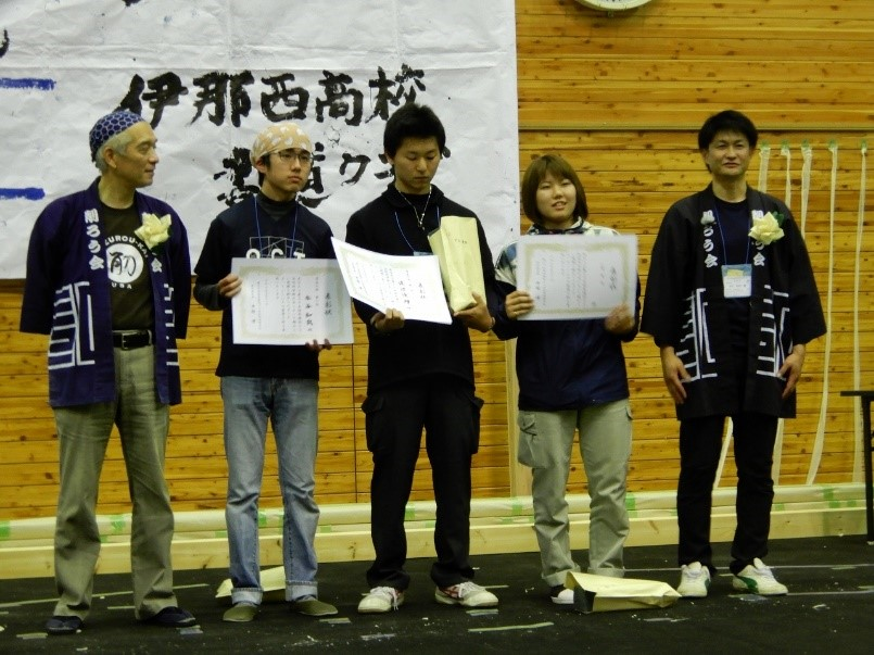 photo: 第35回全国削ろう会・信州伊那全国大会 学生の部 準優勝を果たしました!