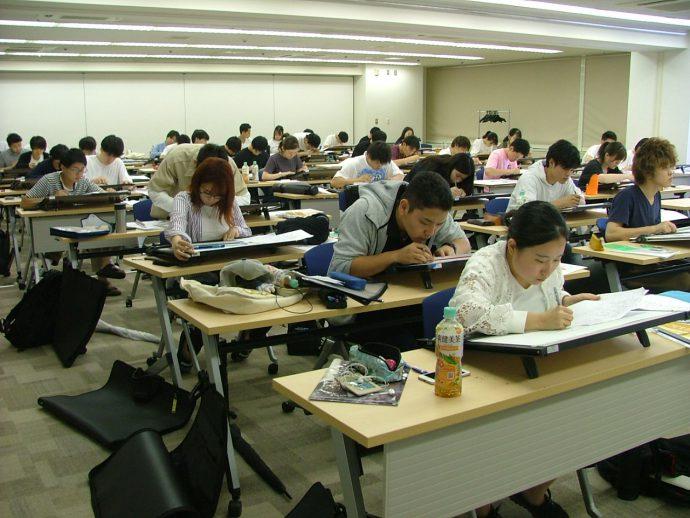 photo: 二級建築士 設計製図 基礎特訓研修を行いました