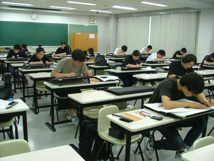 photo: 建築士専科+日曜専科 二級建築士設計製図 合同模擬試験開催