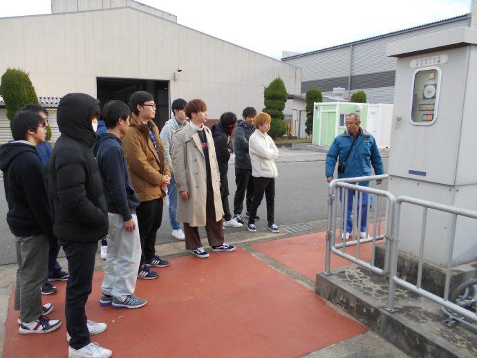 photo: 設備環境デザイン学科1年 柴島浄水場見学