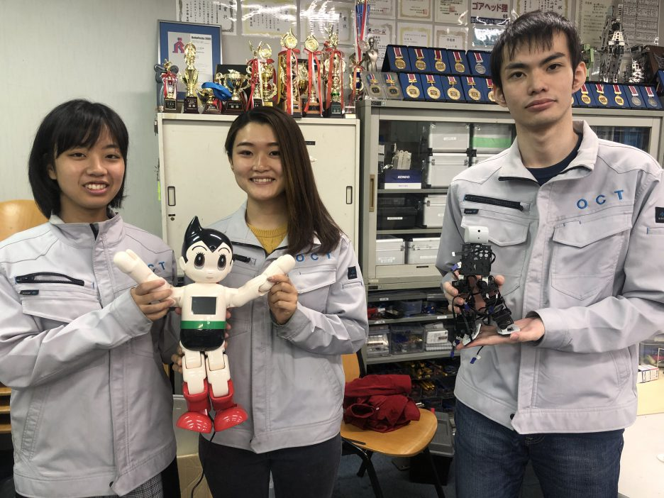 photo: ロボット・機械学科 内定者の紹介