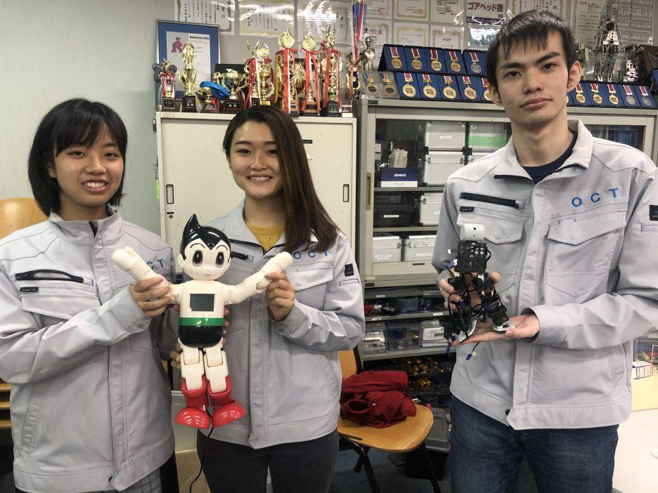 photo: ロボット・機械学科 内定者の紹介