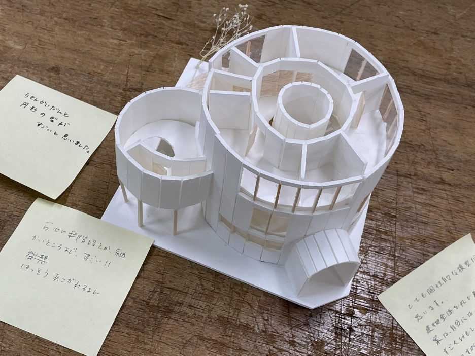 photo: 建築学科1年生 設計製図Ⅰ<br>「すまいの設計」課題 展示会