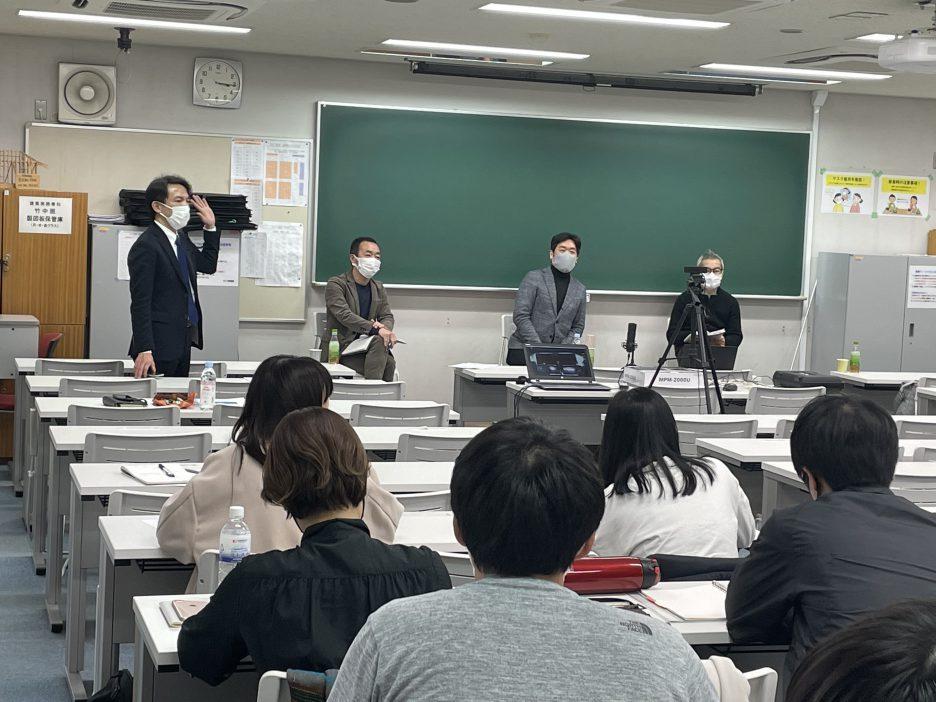 photo: リカレント生対象 特別講座開催<br>「市長のまちづくりの仕事と建築の可能性」<br>講師:倉田哲郎先生