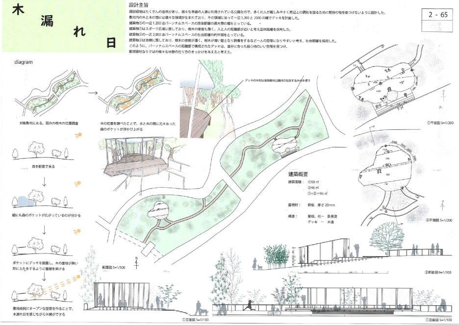 photo: 第30回「あすなろ夢建築」大阪府公共建築設計コンクールで準グランプリ・優秀作品賞・佳作を受賞!