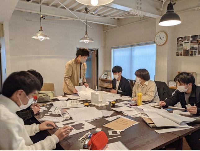 photo: 建築学科 春期企業研修(インターンシップ)在校生の報告
